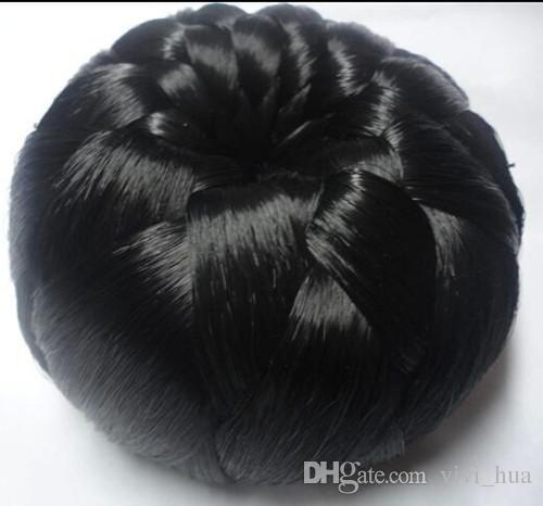 무료 배송 유럽과 미국의 흑인 여성 패션 가발 계약 가발 롤빵 볼 가발 싹이 가발 특별한 가자