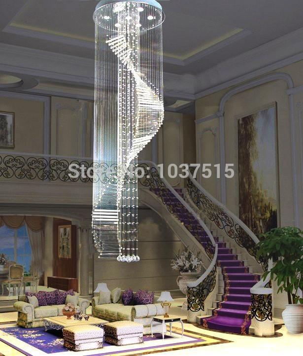 2015 New Design European Style K9 Lustre Crystal Fall