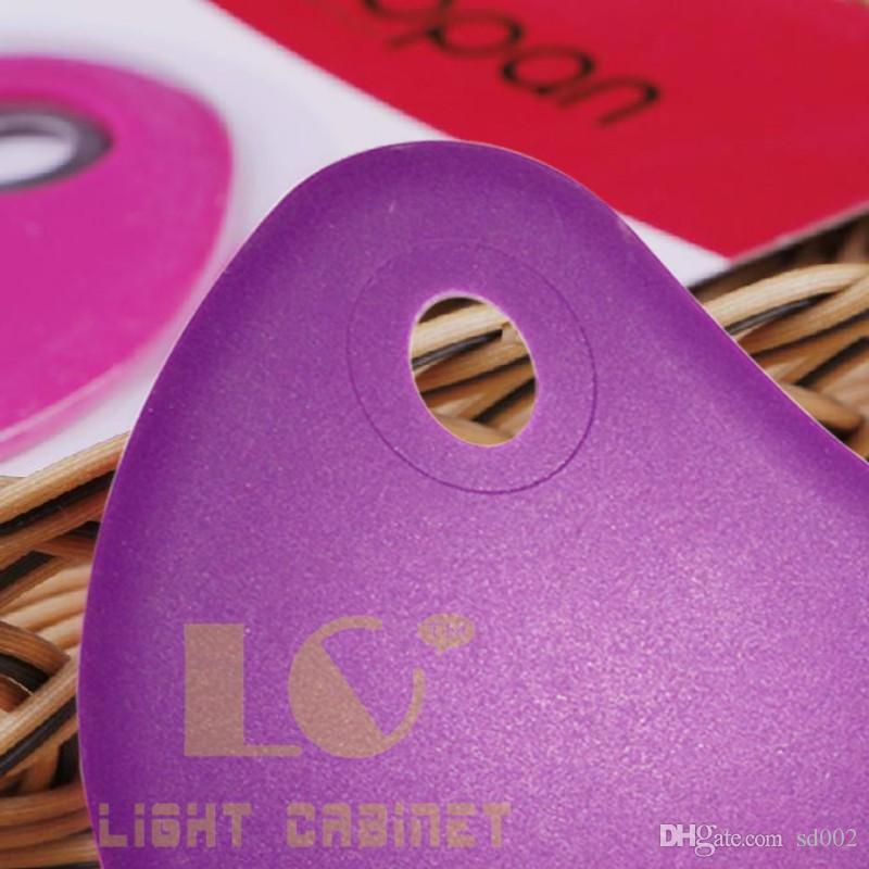 Silikagel-Schaber-multi Farben-einfach zu säubern Silikon-Zeichnung Strickle wasserdichte hängende Loch-Entwurfs-Schaber-Backen-Werkzeuge 3 5lc B
