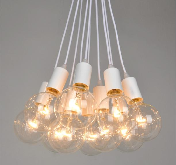 Edison Bulb Light Ideas 22 Floor Pendant Table Lamps: 2018 Retro Style Lamps Living Room Bar Edison 8 Bulbs