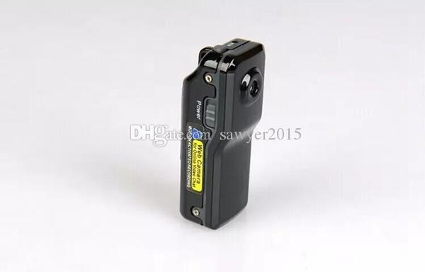 MD81 Wi-fi Mini DV DVR Sem Fio IP Esporte Câmera Digital Video Recorder mini DV MD81 MD81S preto com caixa de varejo