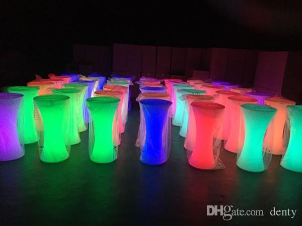 2019 Light Up Bar Table Illuminated Led Table Glowing