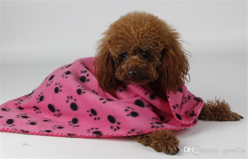 لطيف كلب القط بطانية باو طباعة لينة دافئ الصوف حصيرة غطاء السرير منشفة وسادة خاصة
