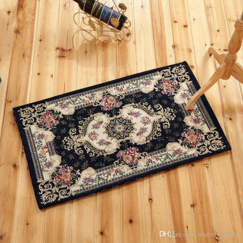 뜨거운 판매 고품질 Doormats 유럽 스타일의 카페트 편안한 도매 바닥 매트가 보호 지역 러그 무료 배송