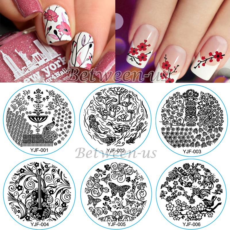 Wholesale New Wholesale Nail Stamping Plates Stamping Template Nail