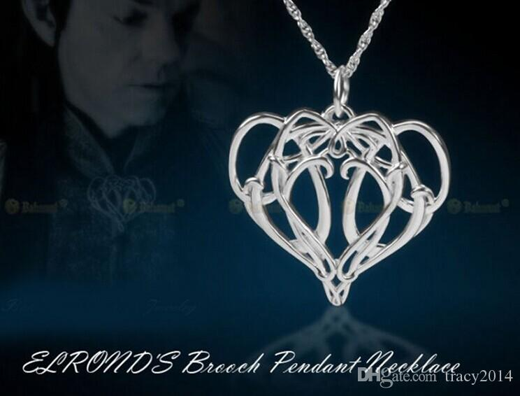 Hobbit Elrond kolye film Yüzüklerin Efendisi Elrond Kolye ELF KRAL Kolye charm takı kolye pandants erkek kolye