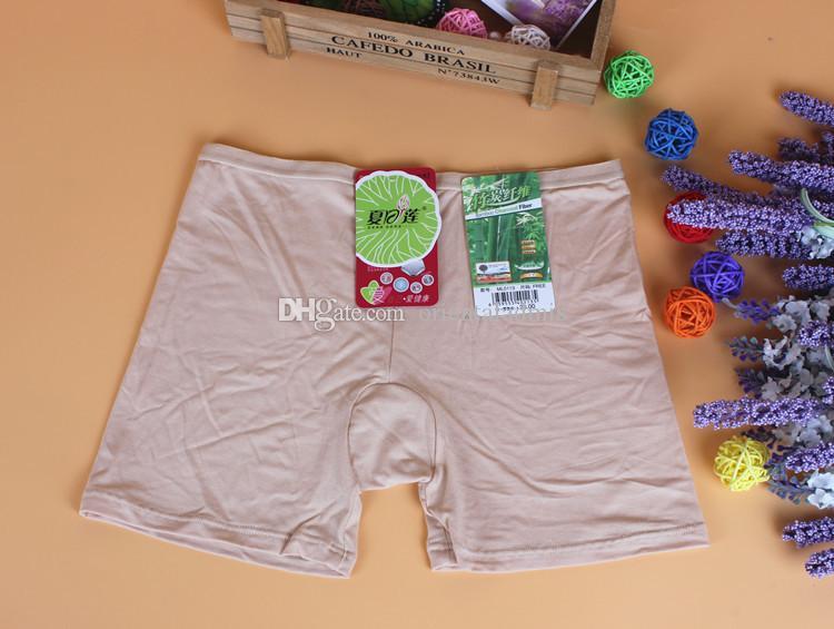 # 0113 도매 / 가장 저렴한 여성 숙녀 소녀 여름 패션 대나무 섬유 안전 안티 노출 기본 반바지 팬티 팬티