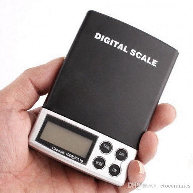 미니 보석 다이아몬드 디지털 저울 전자 저울 디지털 무게 규모 500g 1000g 2000g 0.1g 그램 / DHL 페덱스 무료 빠른