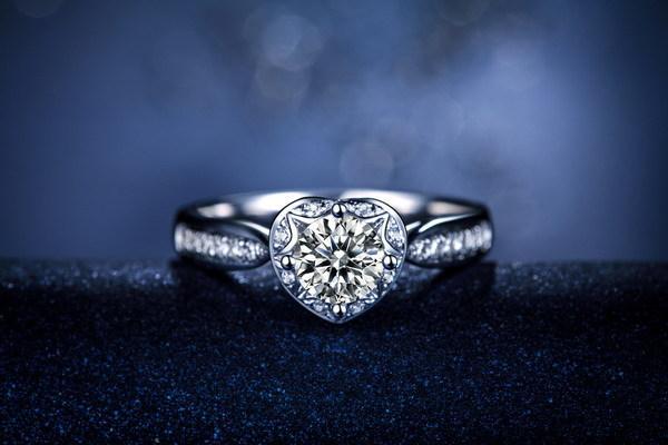 1 ct anéis de diamante sintético design clássico elegante 925 anel de casamento de prata presente do festival para amante certificada nupcial jóias
