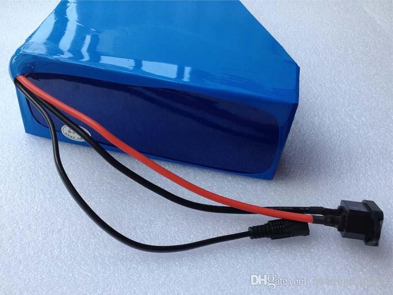 Треугольник электрический велосипед батареи 48V 20ah литий-ионный аккумулятор для 1000 Вт двигателя э велосипед скутер комплект + зарядное устройство Оптовая горячие продажи 100% новый