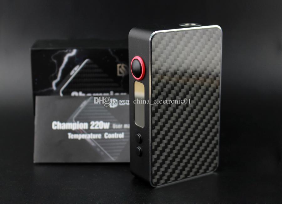 Meilleure vente DOVPO Champion 220 w mod ecig TC Champion 220 W boîte mod VV Guardian 1.5 150 W Punisher 80 MOD