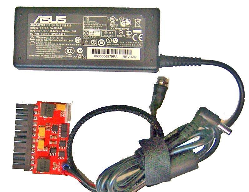 Picopsu Dc 16 24v Mini Itx Atx Power Supply + 65w Ac/Dc Power ...