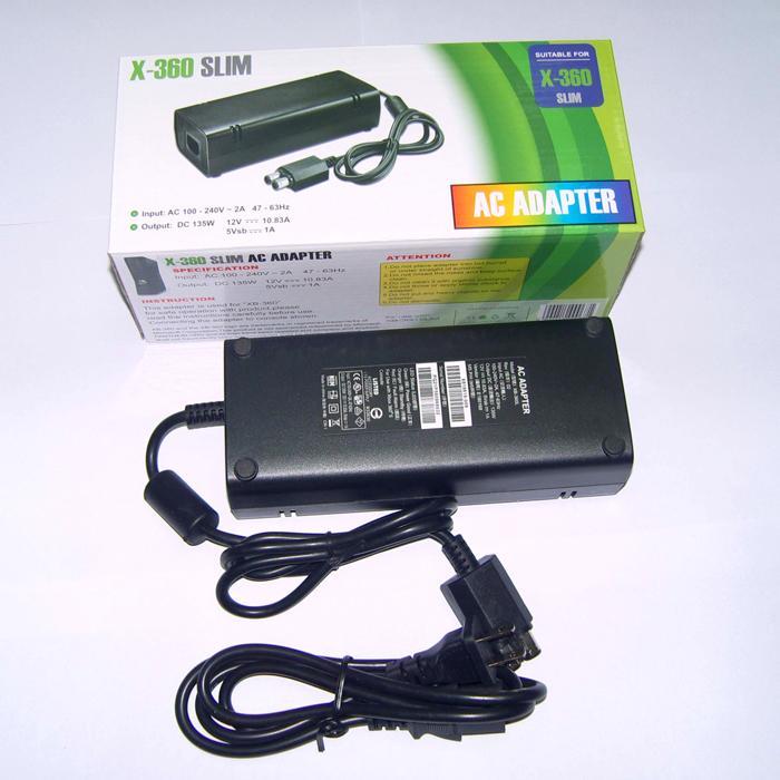 US Plug 100-240V ~ 2A 47-63Hz AC Power Adapter Caricatore da parete Cavo di alimentazione Cavo Xbox 360 Xbox360 Console sottile
