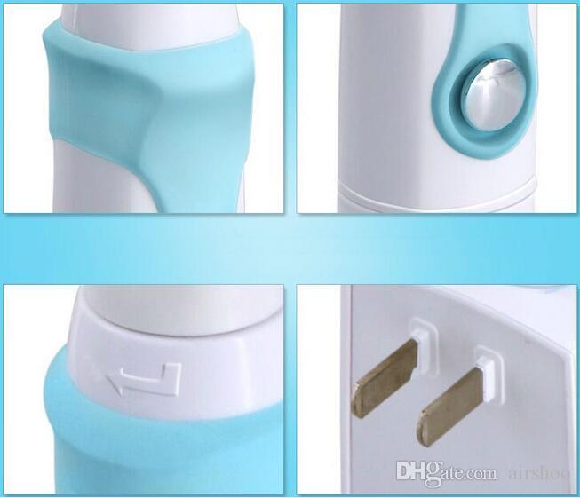 Kemei KM907 Şarj Edilebilir Elektrikli Diş Fırçası Ultrasonik Diş Fırçası diş Çocuklar için 3 Yedek Başlı Şarj Edilebilir Diş Fırçası.