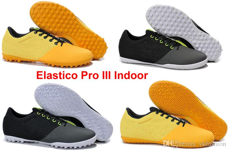 b02f01304 2019 Elastico Pro III Indoor Turf AG Soccer Cleats Soccer Shoes Indoor For Artificial  Grass Use From Vkfashion