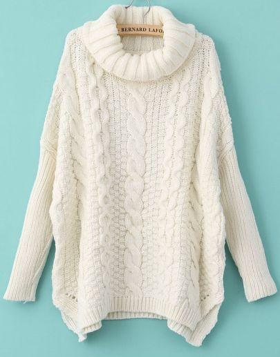 Wholesale 2014 Autumn New Fashion Sweaters Women Casual White Long ...