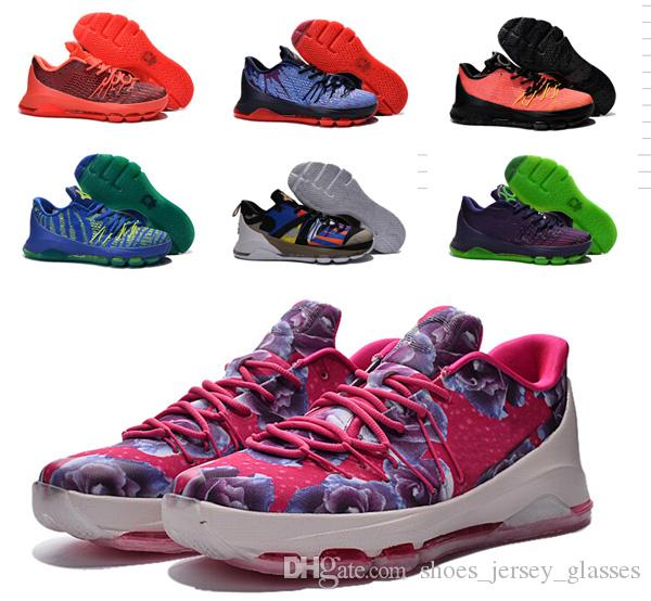 classic fit 758bd 547b1 where to buy kd 8 viii kevin durant cheap kids basketball shoes kd8 aunt  pearl sneakers