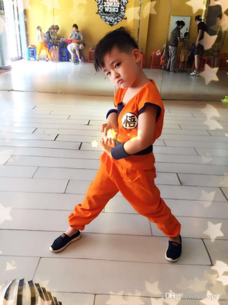 2018 Anime Dragon Ball Son Goku Cosplay Costume Dragon ...