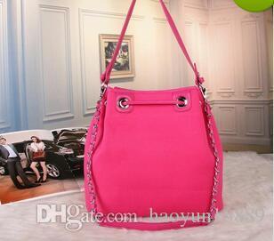 378dba9852b8 Canvas Drawstring Bucket Bag Luxury Handbags Women Bags Designer Famous  Brands Channel Bag Fabric Shoulder Bags Female Crossbody Free Shippi Black  Handbag ...