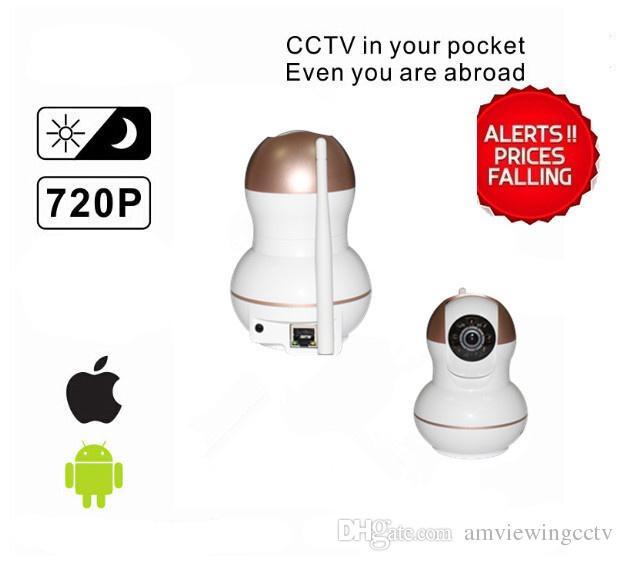 Caméra IP domestique HD 720P bi-directionnelle pour interphone, caméra ip complète plug and play, fabricant de caméras ip de shenzhen. Livraison rapide DHL / EMS / ARAMEX