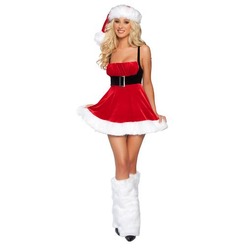 girls Naughty santa