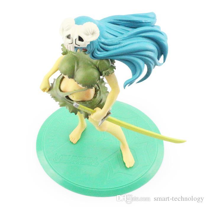 Envío gratis 21 cm Japonés Anime Cartoon Bleach Nelliel Tu Odelschw 1/8 Escala Art Figure Para regalos de Navidad