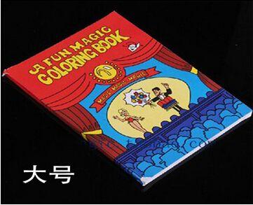 Best A Fun Magic Coloring Book Large Size TricksMentalismSatge PropsCardMagic AccessoriesGimmicksClose Up Cool Street Tricks