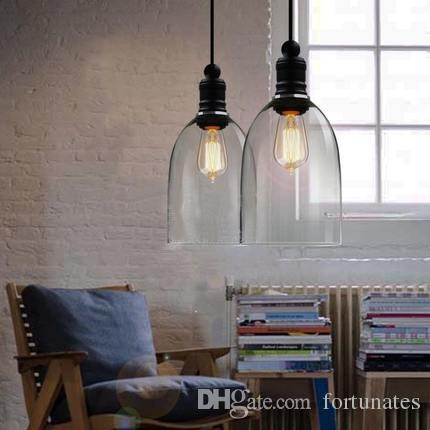 Modern Crystal Bell Glass Pendant Lights Dining Room Indoor Contemporary  Lighting Fixtures Dining Room Ceiling Lights Track Pendant Lighting From  Fortunates ...