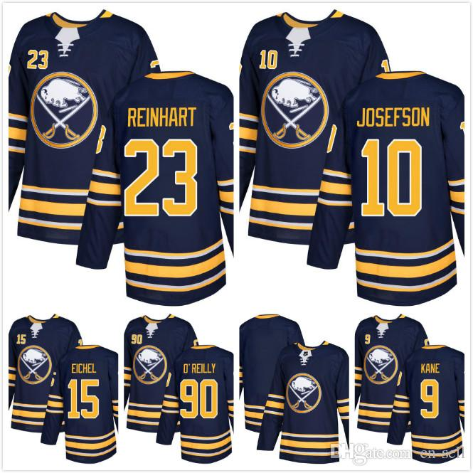 2018 AD Mens Buffalo Sabres Stars Jacob Josefson Ryan O Reilly 9 ... c98482955