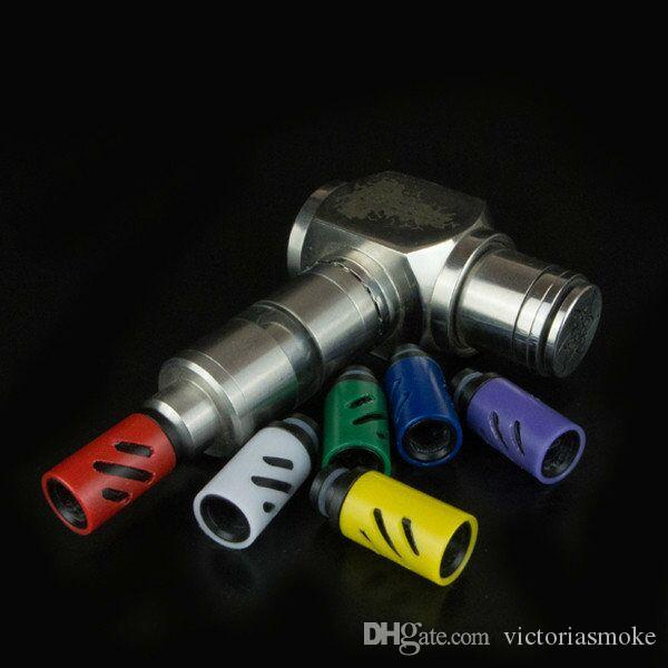 510 Adjustable air flow Wide Bore Drip Tips Plastic Drip Tip for CE4 DCT RDA RBA mechanical mod Atomizer vaporizer EGO E Cig Vapor Tanks