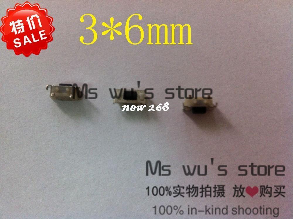 Großhandel 1000 Teile / Los 3 * 6 * 3,5mm Smd Mikroschalter Mp3 Mp4 ...