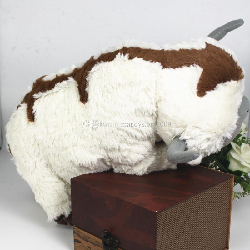 50CM del tamaño grande de Kawaii Avatar Last Airbender Appa juguetes de peluche suave Juguetes Vaca animal de peluche de la muñeca Brinquedos Juguetes para niños