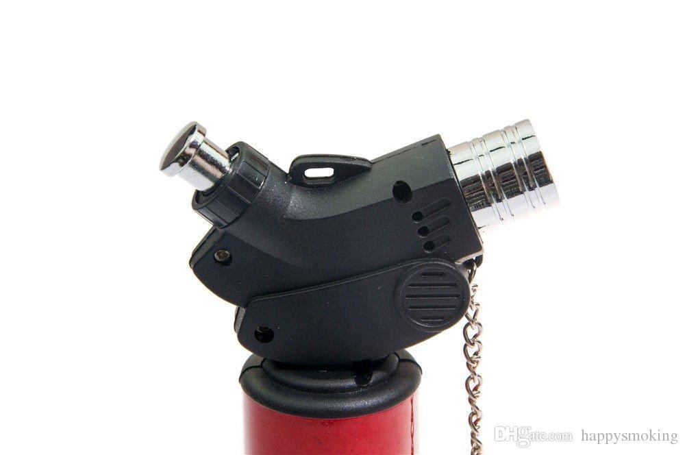 Jet Flame Lighter Jet Flame Gun Gas Butane Burner Torch Lighter Cooking Soldering BBQ Tool Cigarette Cigar Lighter