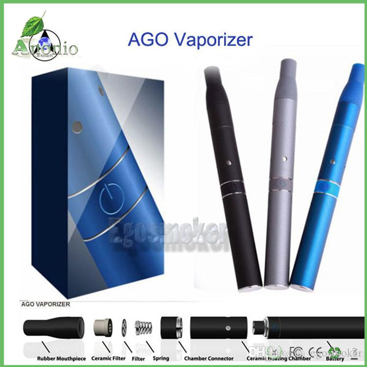 Ago G5 dry herb vaporizer pen vapor Electronic cigarettes kits dry herb atomizer LCD Display Ago G5 pen E Cigarette Various Colors