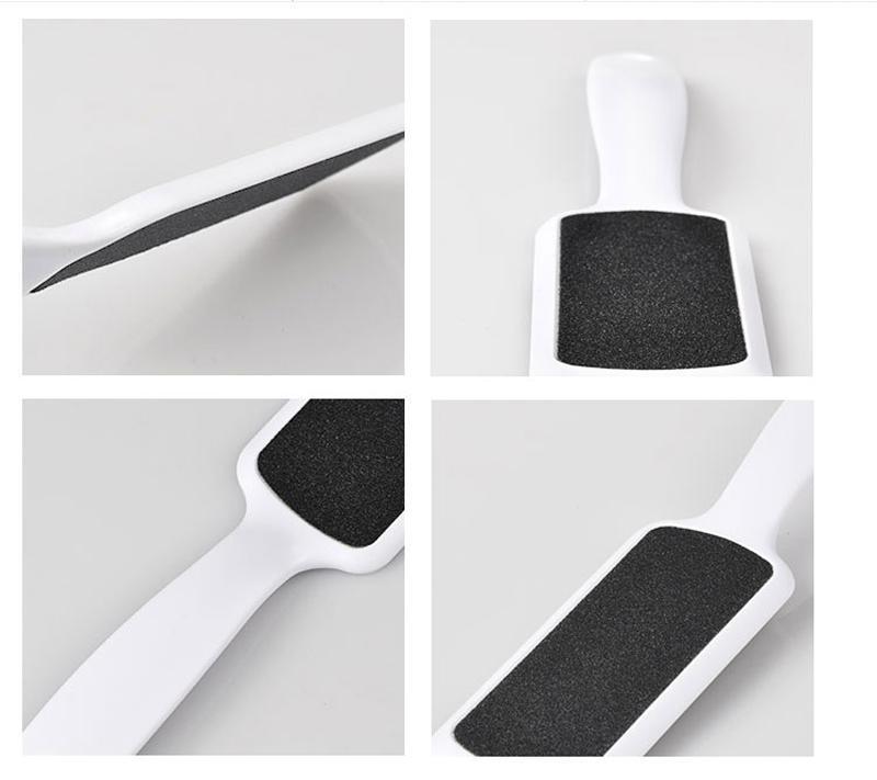 / râpe en plastique pour pieds pied râpes nail art fichier de papier de verre pour pédicure callus remover LIVRAISON GRATUITE