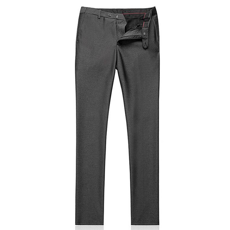 High Quality Men Suit Latest Coat Pant Designs Slim Fit Men's Suit Terno Masculino Plus Size Wedding DressJacket+Pant Gray Hot