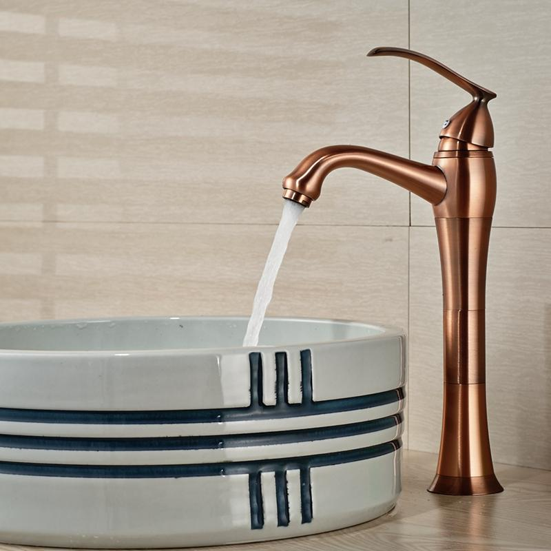 2018 Wholesale And Retail Solid Brass Bathroom Faucet Antique Copper ...