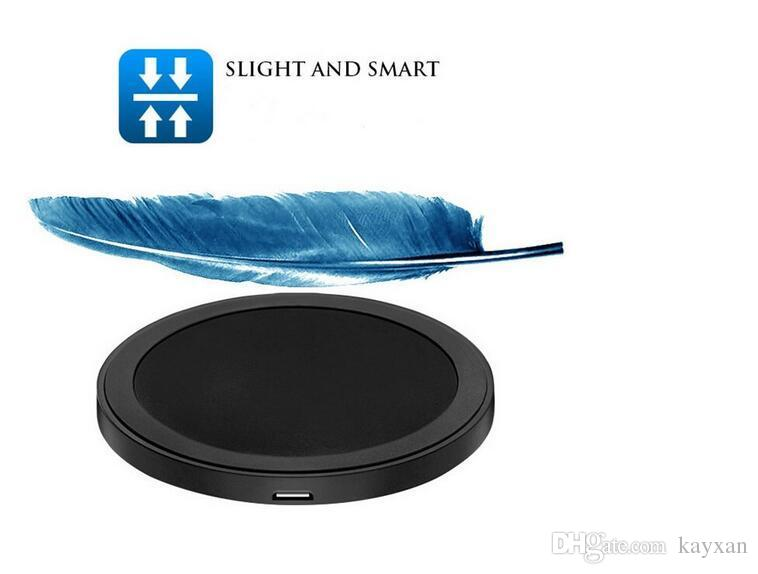 Qi wireless charging pad charger with USB port universal battery in charge For Iphone 8 8 Plus and Samsung S8 Note opp