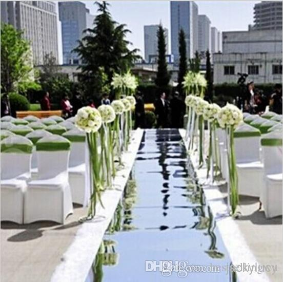 10m 1 m wide shiny wedding decor mirror carpet aisle runner with 10m 1 m wide shiny wedding decor mirror carpet aisle runner with gold silver double sides for wedding favors supplies wedding decoration resale wedding junglespirit Choice Image