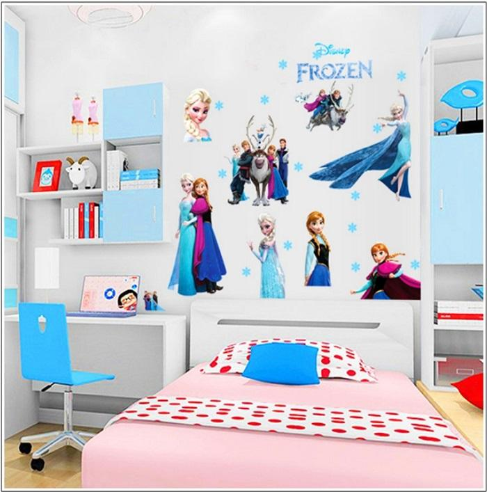 2015 Frozen Queen Elsa Sticker Frozen Stickers Wall Decoration ...