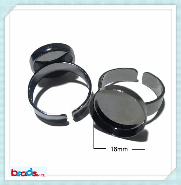 Beadsnice кольцо база идеально подходит для кабошоны диаметр основания 16 мм латунные кольца лотки для ювелирных изделий ID 3428