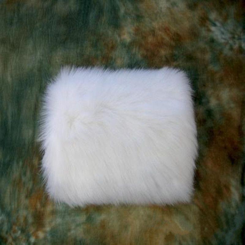 Venta caliente caliente de invierno blanco faux fur guantes de la boda cálida útil para resistir fríos muff accesorios perfectamente combinados con su boda