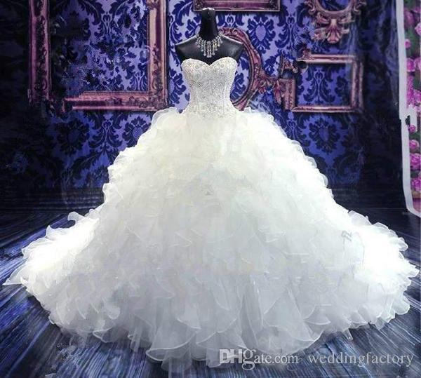 robe de mariée de princesse pas cher - 62