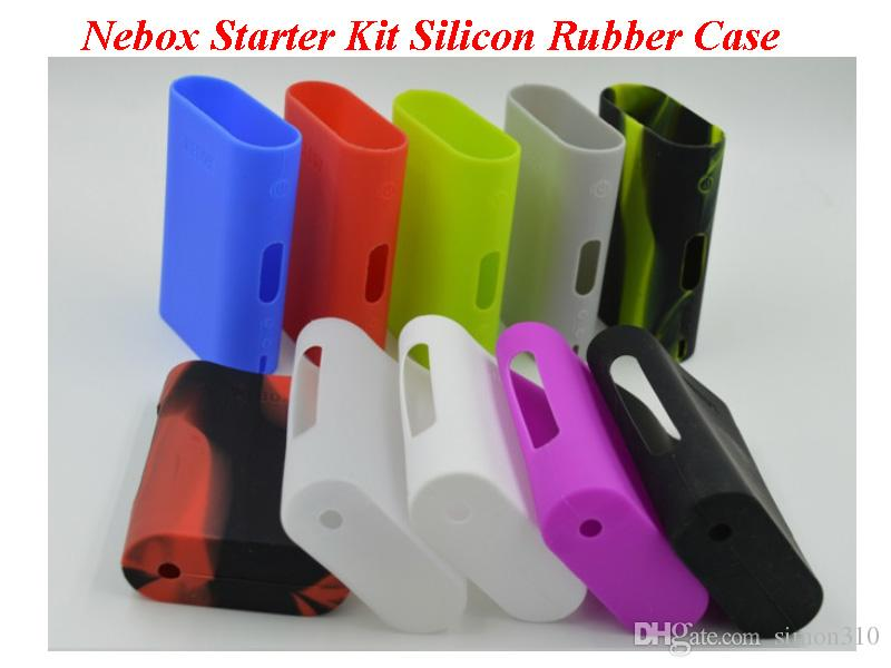 Nebox starter kit Silicone Case Silicon Cases Bag Rubber Sleeve Protective Cover Silica Gel Skin for Kanger Nebox Kit