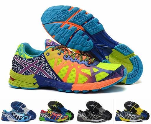 86c393ed44d Compre Barato Novo Asics Gel Noosa Tri 9 Almofada Running Tênis Para  Homens