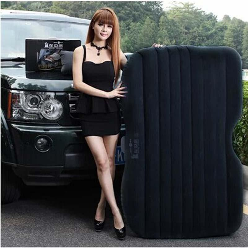 2017 car bed with vehicle air mattress outdoor camping tour rest