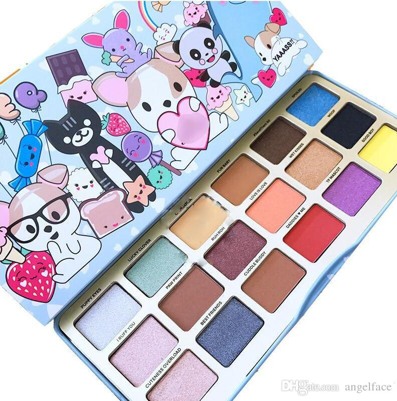 High Quality Makeup faced Clover Palette A Girl's Best Friend Eye Shadow 18 Colors Eyeshadow Matte Palette+Gifts DHL