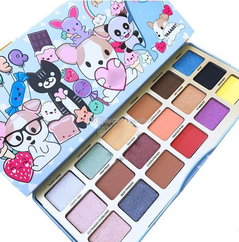 New Clover Un migliore amico della ragazza Trucco i Eye Shadow Palette Make up Cosmetici Matte e Shimmer Eyeshadow Powder Palette regalo