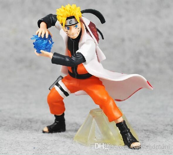 5 шт./компл. Naruto аниме фигурки игрушка Какаши Гаара Учиха Саске ПВХ куклы коллекция игрушки Детские подарочные наборы 13-18 см