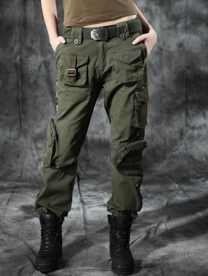 Trend Spotted: cargo pants. I'd like to share with you some of the best 15 ways to wear cargo pants this year. It feels like this year is army-inspired, as I see utility jackets, camouflage prints, cargo trousers and other military garments everywhere appearing on the streets.
